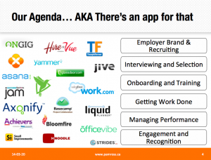Social HR Tech - There's an app for that