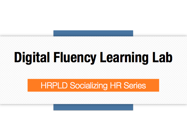 Digital Fluency Learning Lab slides