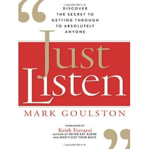 Just Listen - Author Mark Goulston