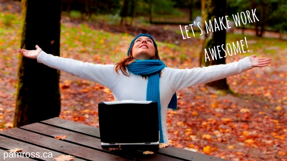 Let's make work awesome! (1)